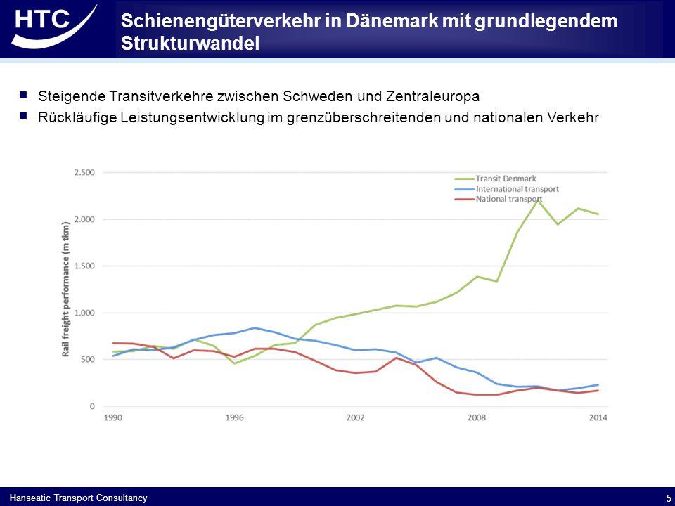 Schienengüterverkehr in Dänemark mit grundlegendem Strukturwandel