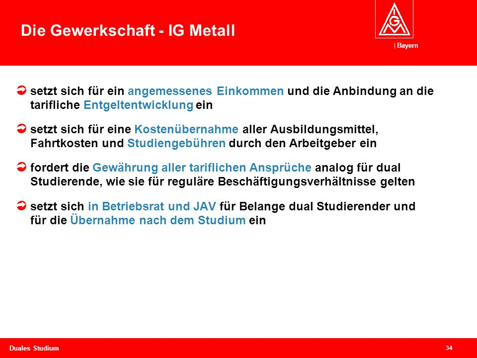 Die Gewerkschaft - IG Metall