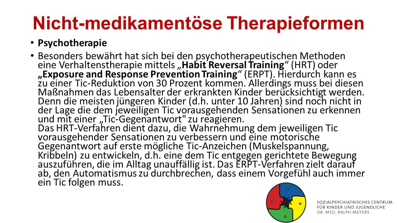 Nicht-medikamentöse Therapieformen