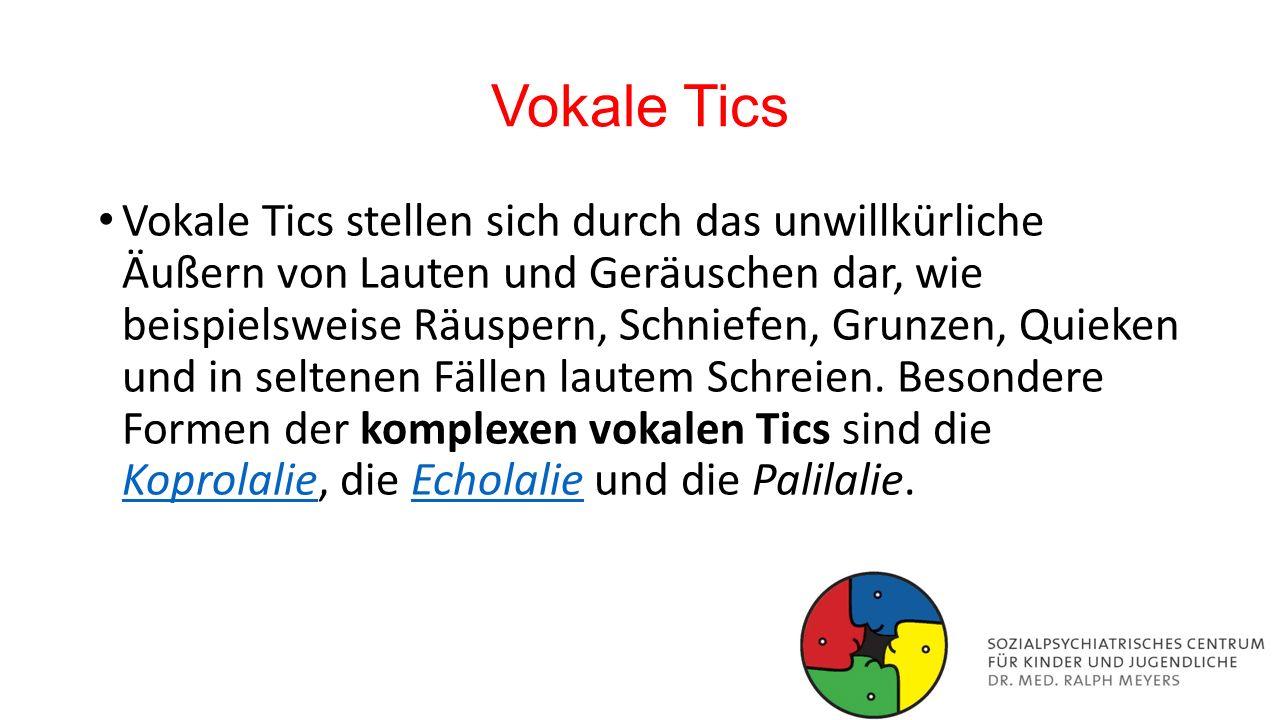 Vokale Tics