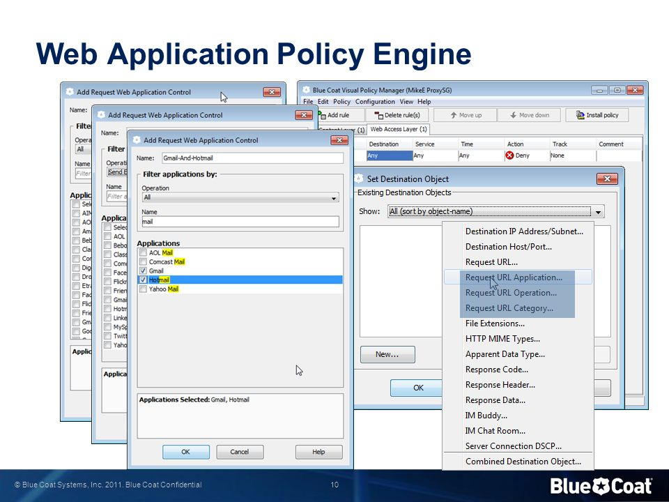 Web Application Policy Engine