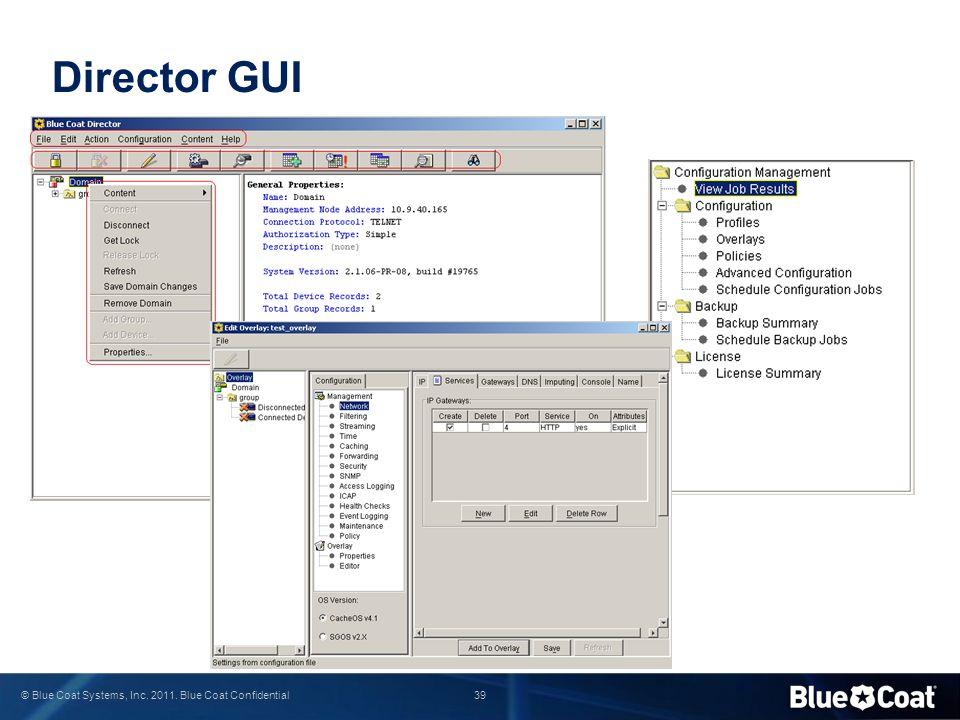 Director GUI