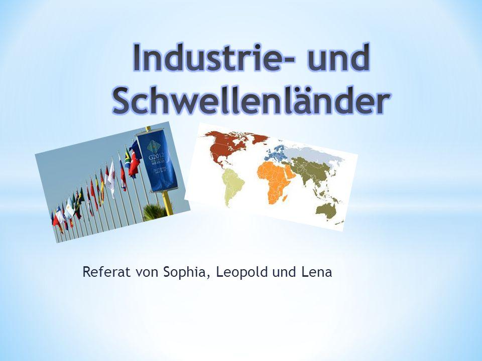 Industrie- und Schwellenländer