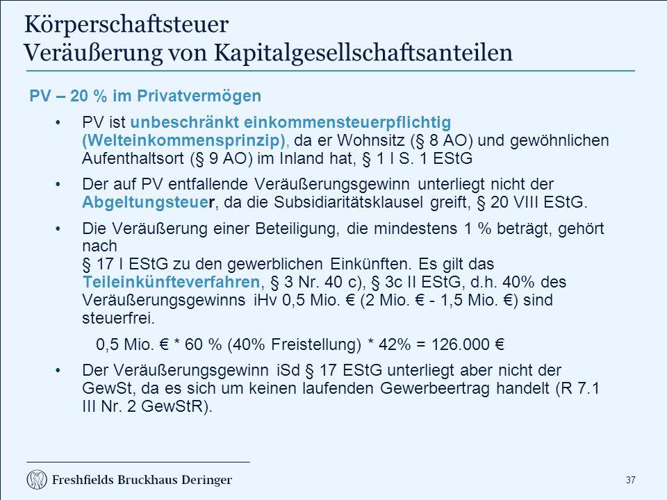 Körperschaftsteuer Steuerpflicht – Steuerobjekt KSt Systeme