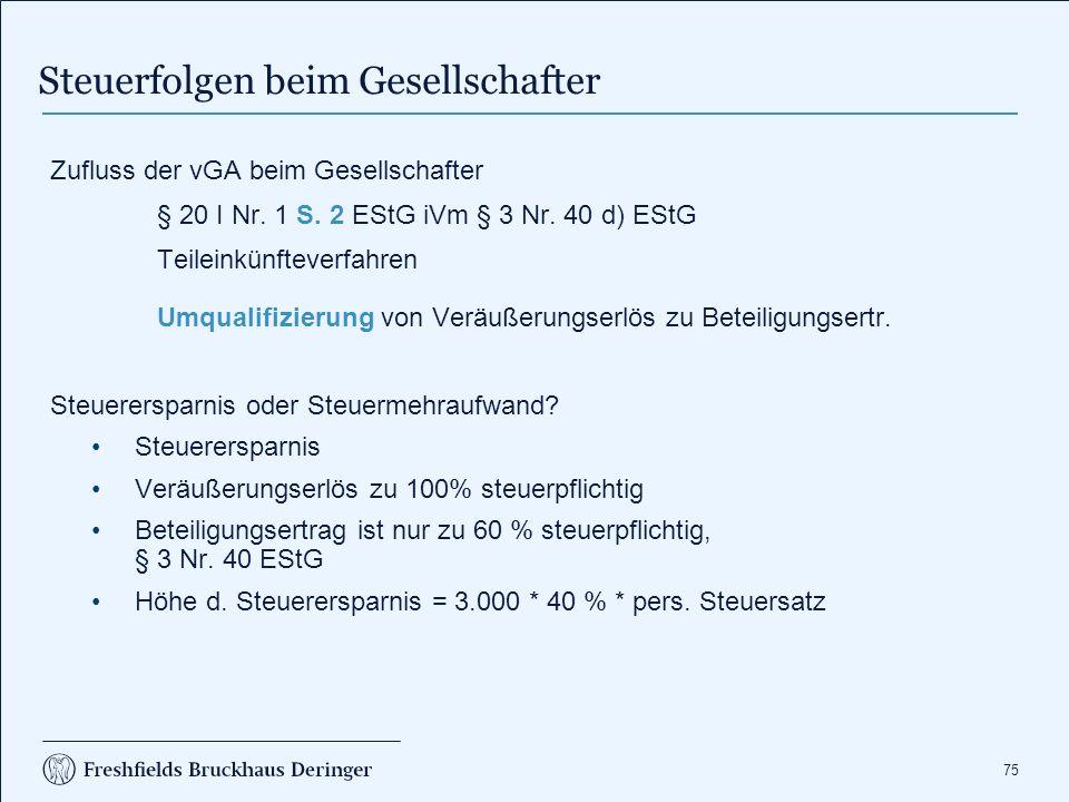 Übungsaufgabe Fall. A ist Einzelunternehmer. Zu seinem Einzelunternehmen. gehören alle Anteile der Tochter GmbH. A veräußert an.