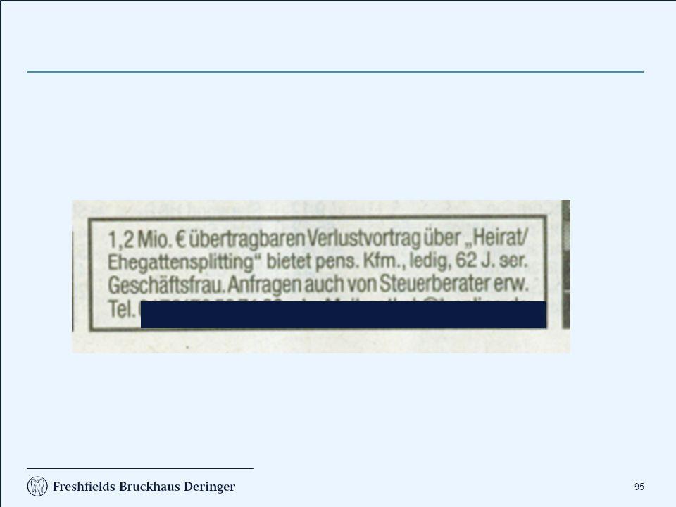 Körperschaftsteuer Change of control / Mantelkauf § 8c KStG