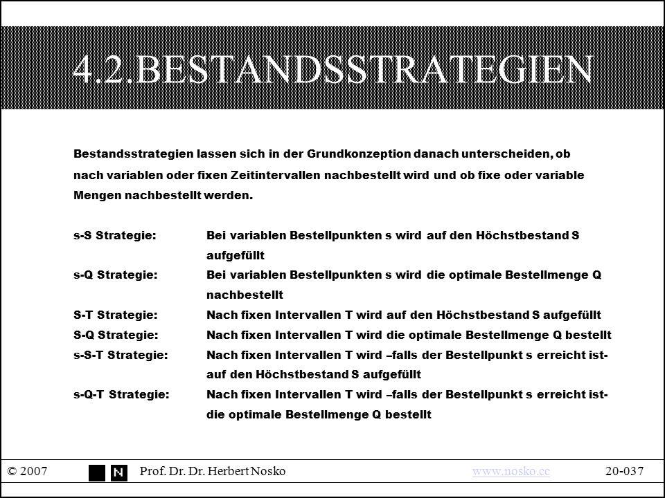 4.2.BESTANDSSTRATEGIEN Bestandsstrategien lassen sich in der Grundkonzeption danach unterscheiden, ob.