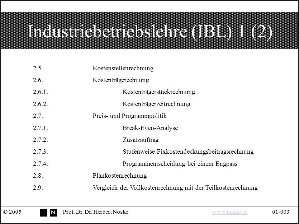 Industriebetriebslehre (IBL) 1 (2)