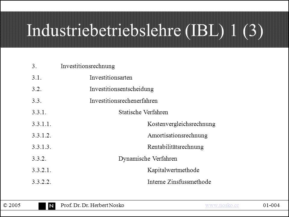 Industriebetriebslehre (IBL) 1 (3)