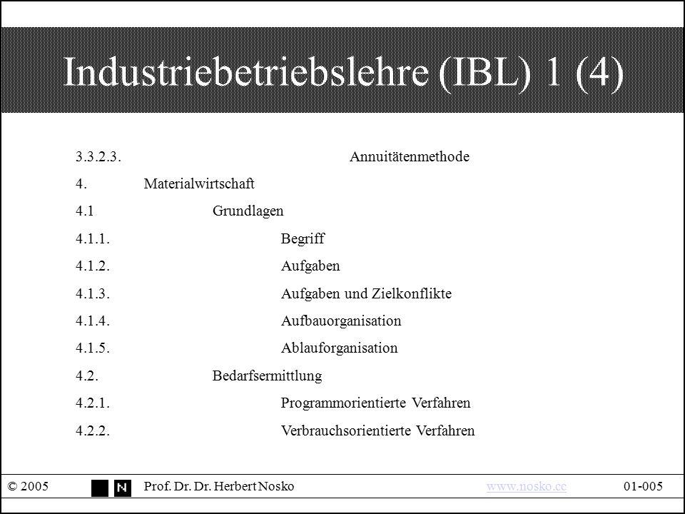 Industriebetriebslehre (IBL) 1 (4)