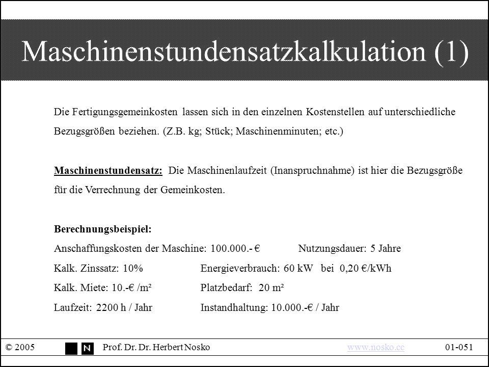 Maschinenstundensatzkalkulation (1)