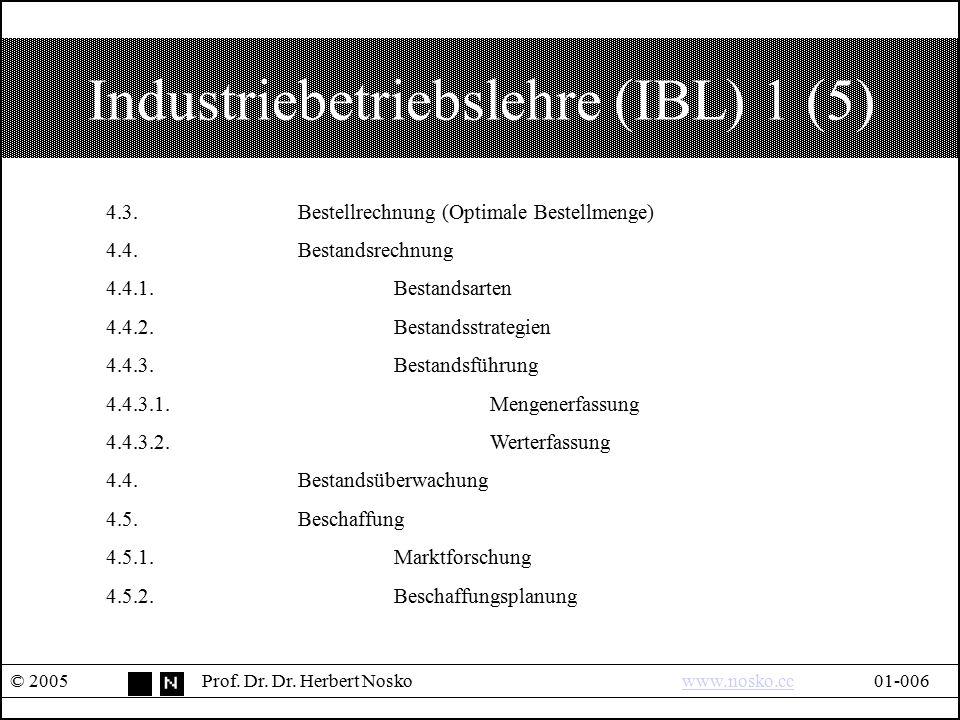 Industriebetriebslehre (IBL) 1 (5)