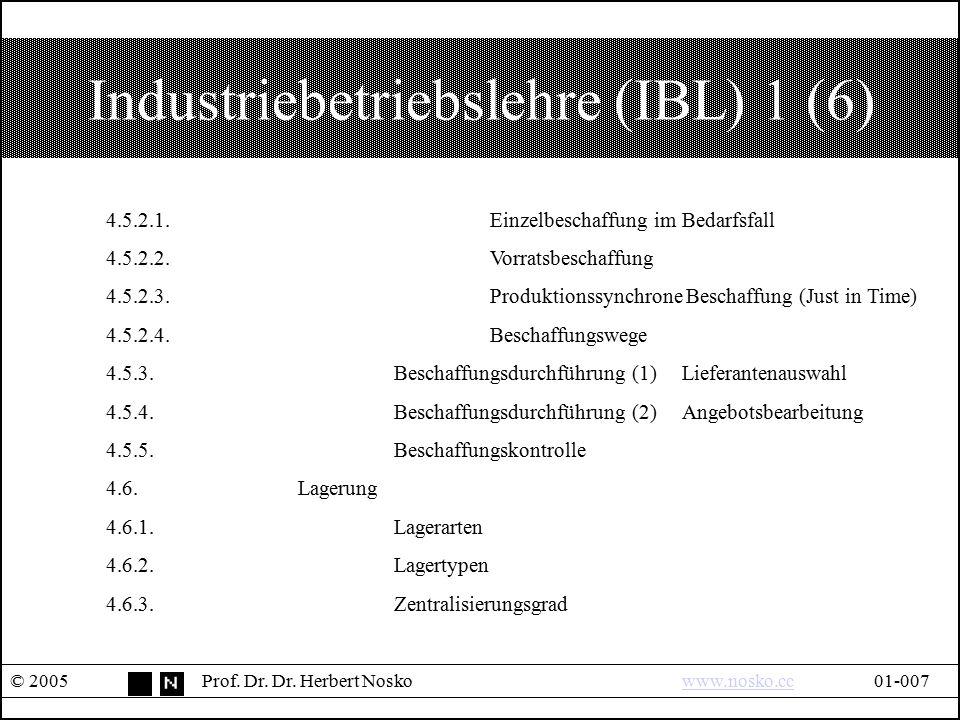 Industriebetriebslehre (IBL) 1 (6)