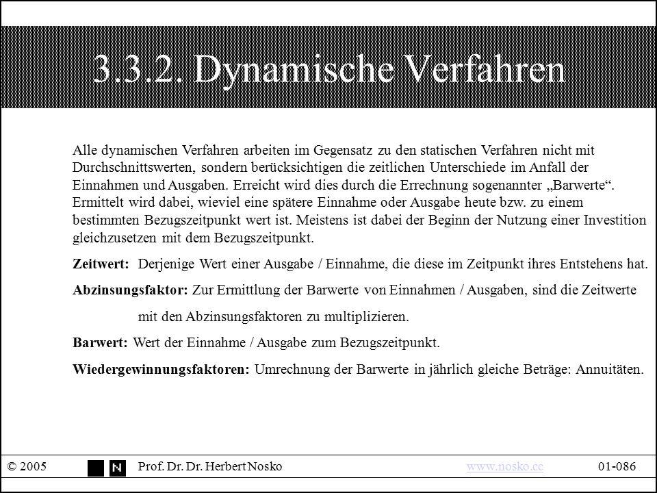 3.3.2. Dynamische Verfahren