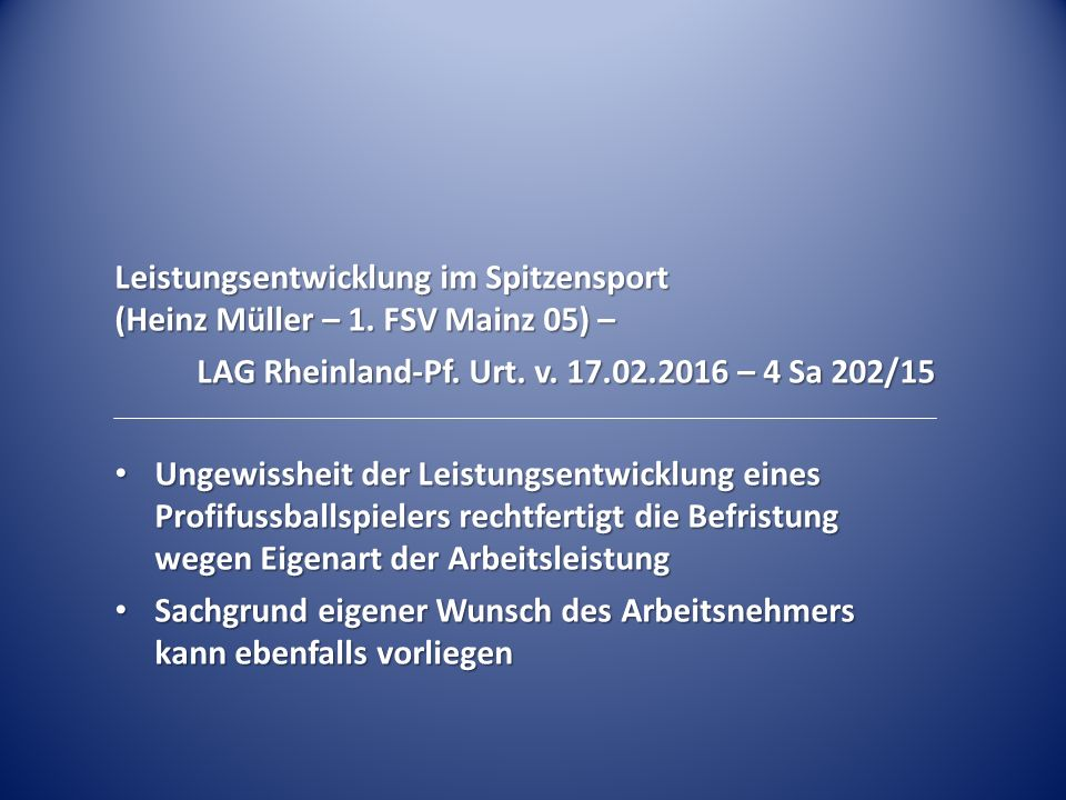 LAG Rheinland-Pf. Urt. v. 17.02.2016 – 4 Sa 202/15