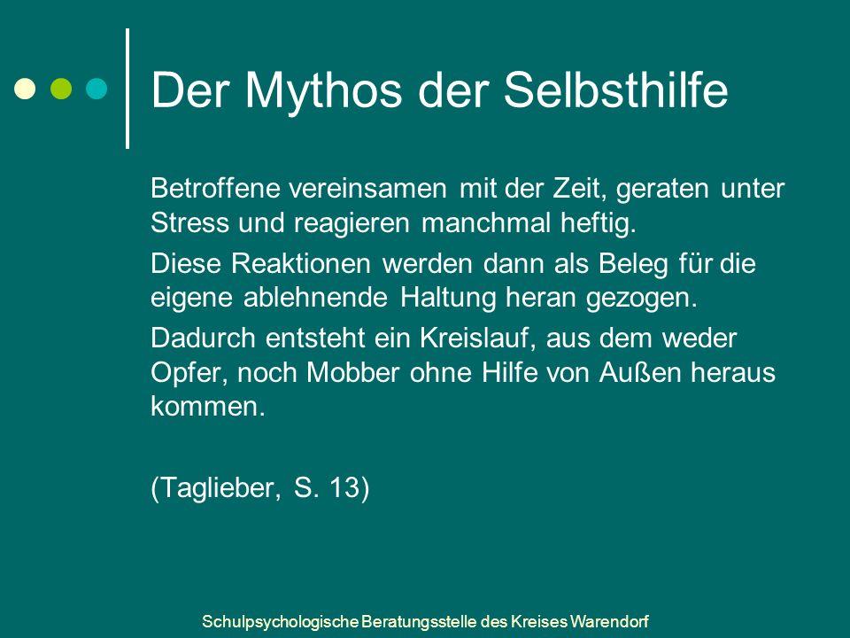 Der Mythos der Selbsthilfe