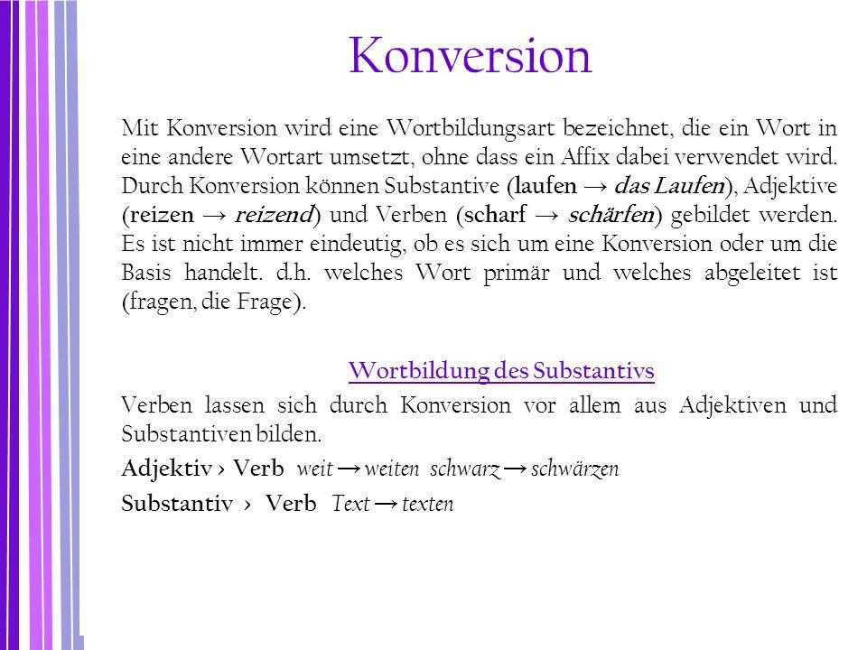 Konversion