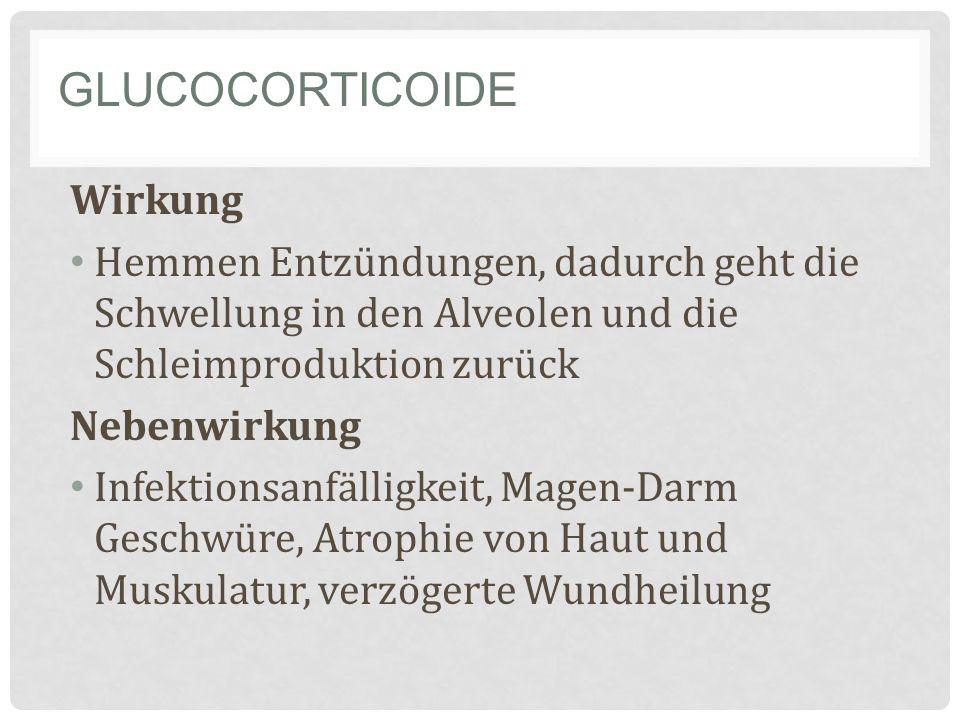 Glucocorticoide Wirkung