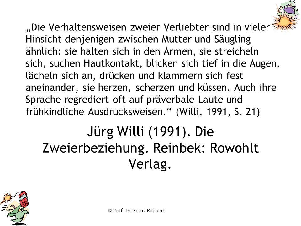 Jürg Willi (1991). Die Zweierbeziehung. Reinbek: Rowohlt Verlag.