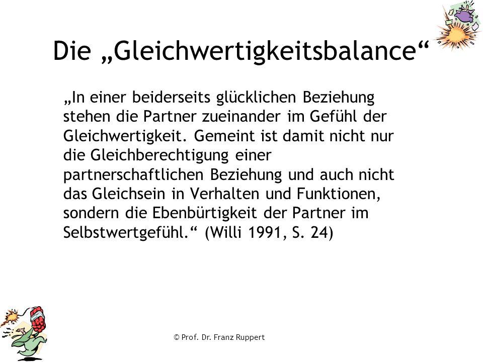 """Die """"Gleichwertigkeitsbalance"""