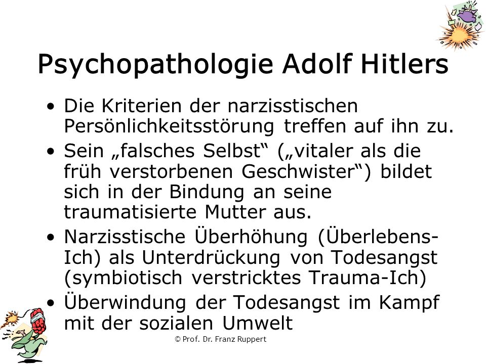 Psychopathologie Adolf Hitlers