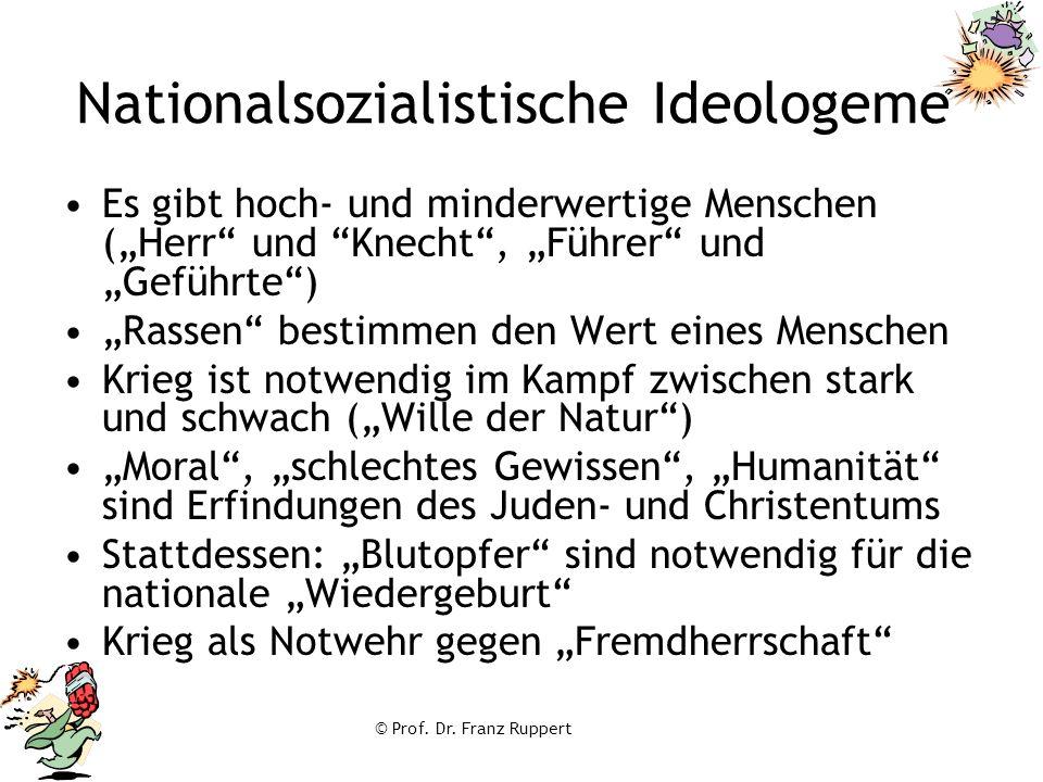 Nationalsozialistische Ideologeme