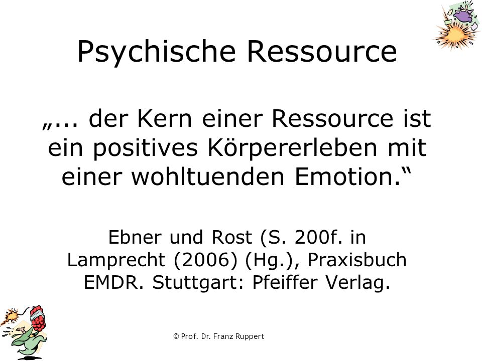 """Psychische Ressource """""""