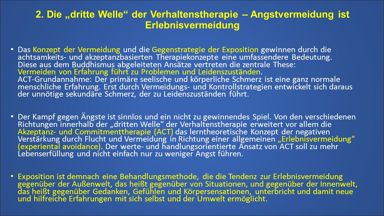 Exposition. Vortrag Dr. Hans Morschitzky 17