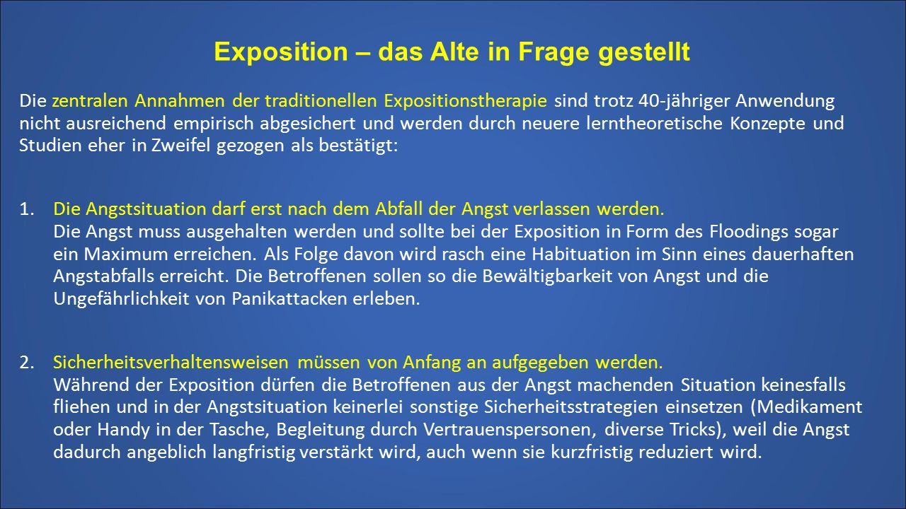 Exposition – das Alte in Frage gestellt