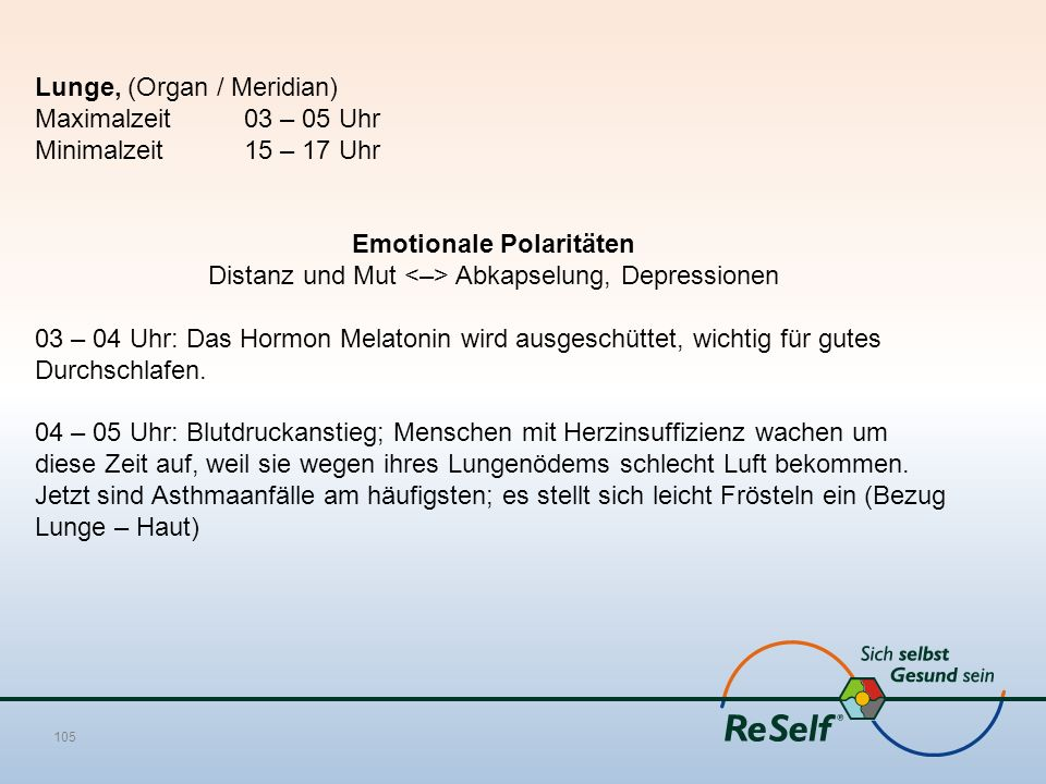 Emotionale Polaritäten