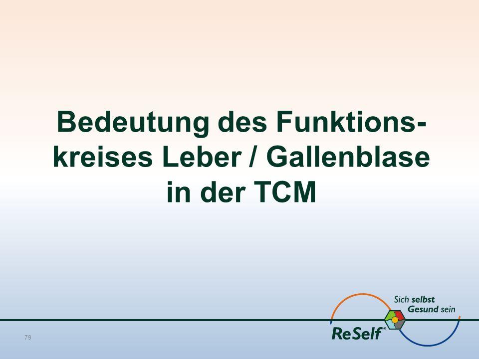 Bedeutung des Funktions-kreises Leber / Gallenblase