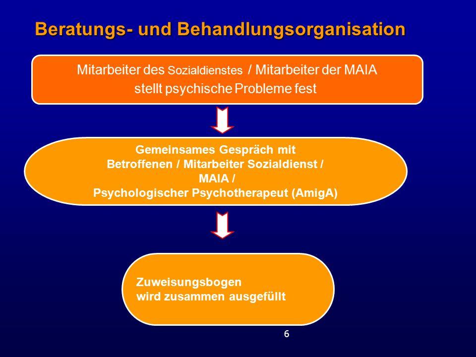 Beratungs- und Behandlungsorganisation