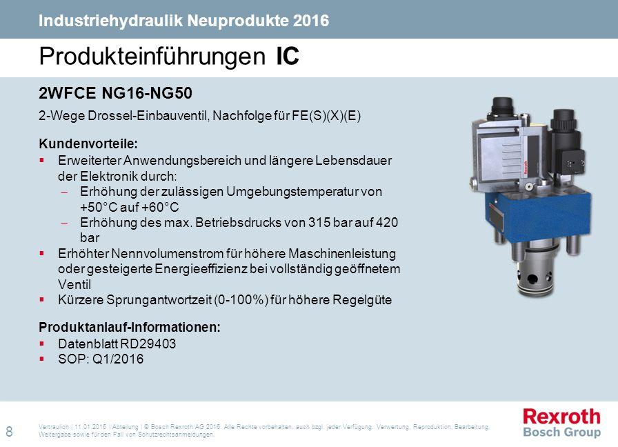 Produkteinführungen IC