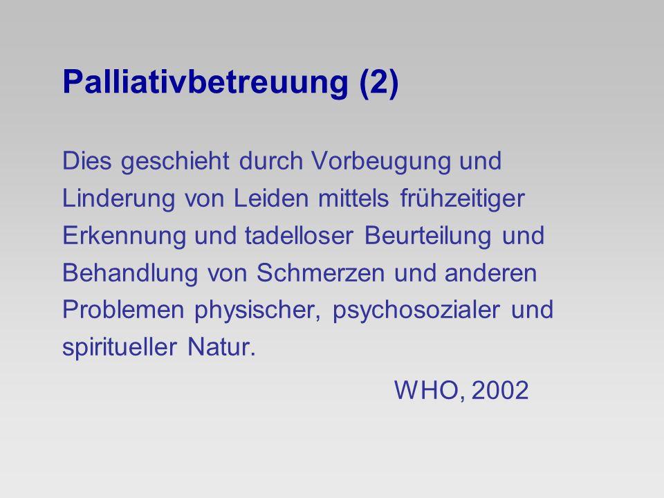 Palliativbetreuung (2)