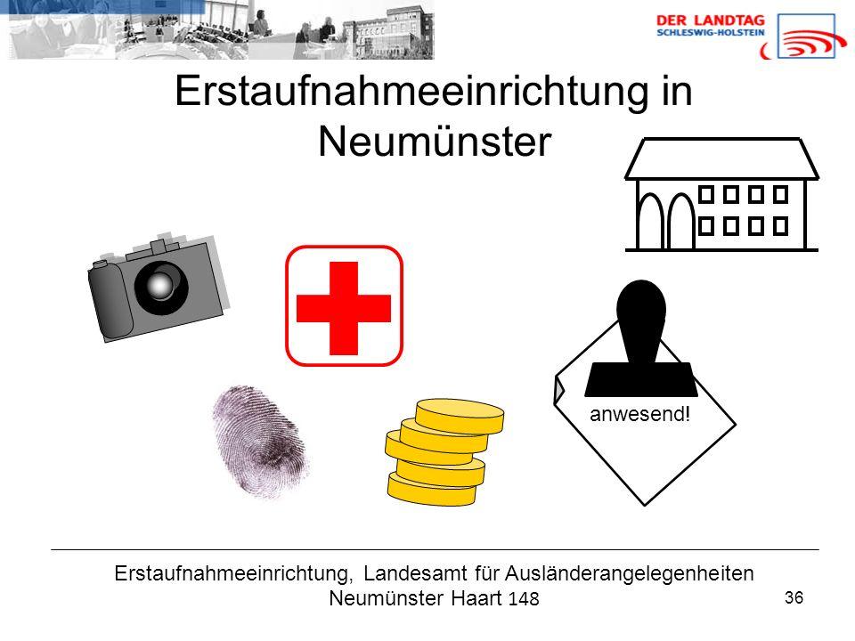 Erstaufnahmeeinrichtung in Neumünster