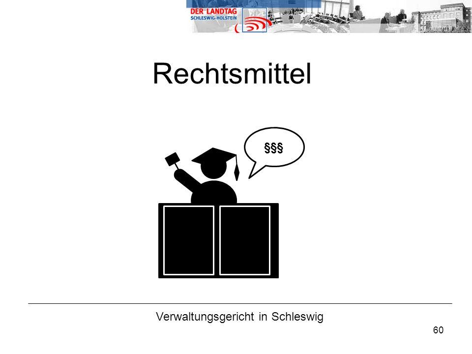 Verwaltungsgericht in Schleswig