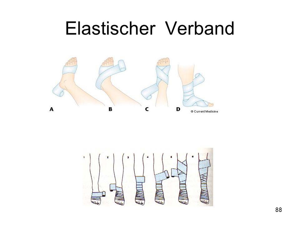 Elastischer Verband