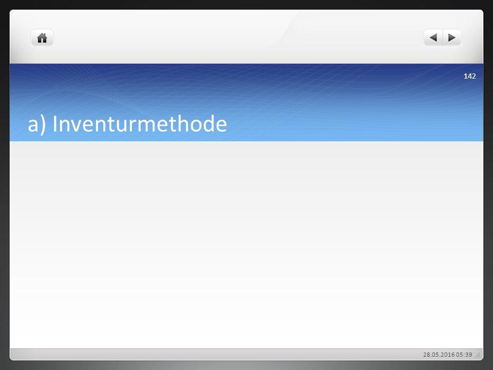 a) Inventurmethode 27.04.2017 19:01