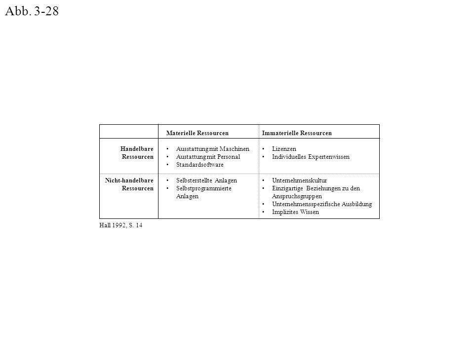 Abb. 3-28 Immaterielle Ressourcen Lizenzen