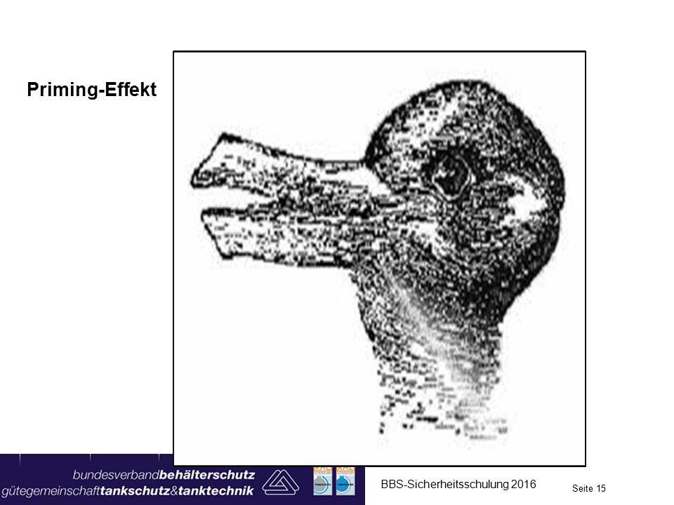 Priming-Effekt