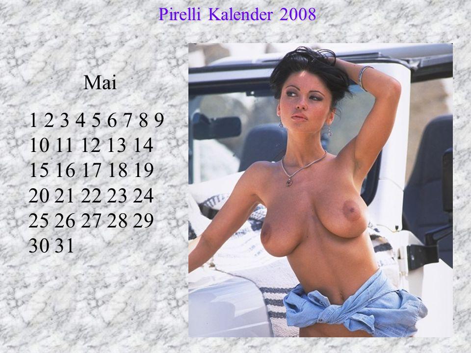 Pirelli Kalender 2008 Mai.