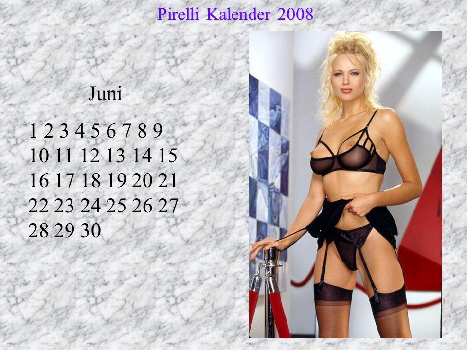 Pirelli Kalender 2008 Juni.