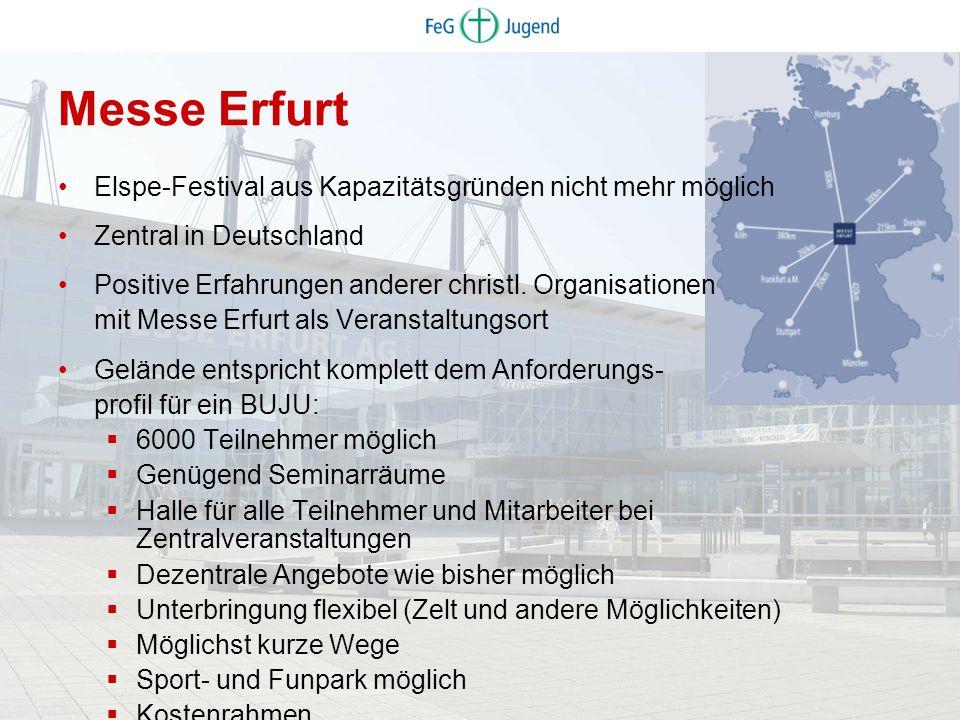 Messe Erfurt Elspe-Festival aus Kapazitätsgründen nicht mehr möglich