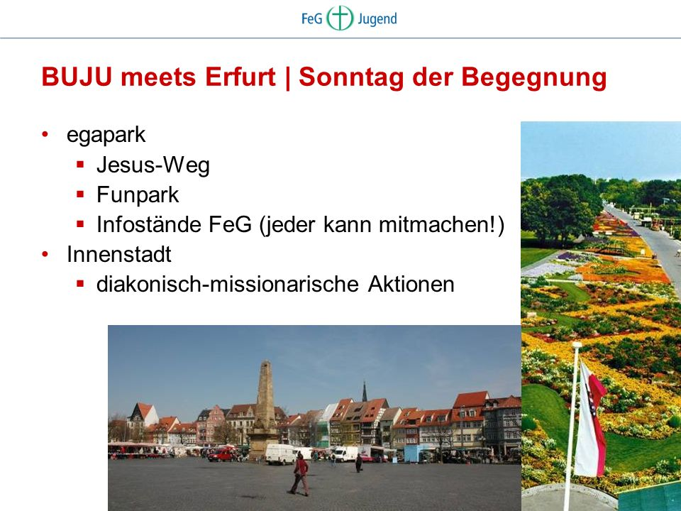 BUJU meets Erfurt | Sonntag der Begegnung