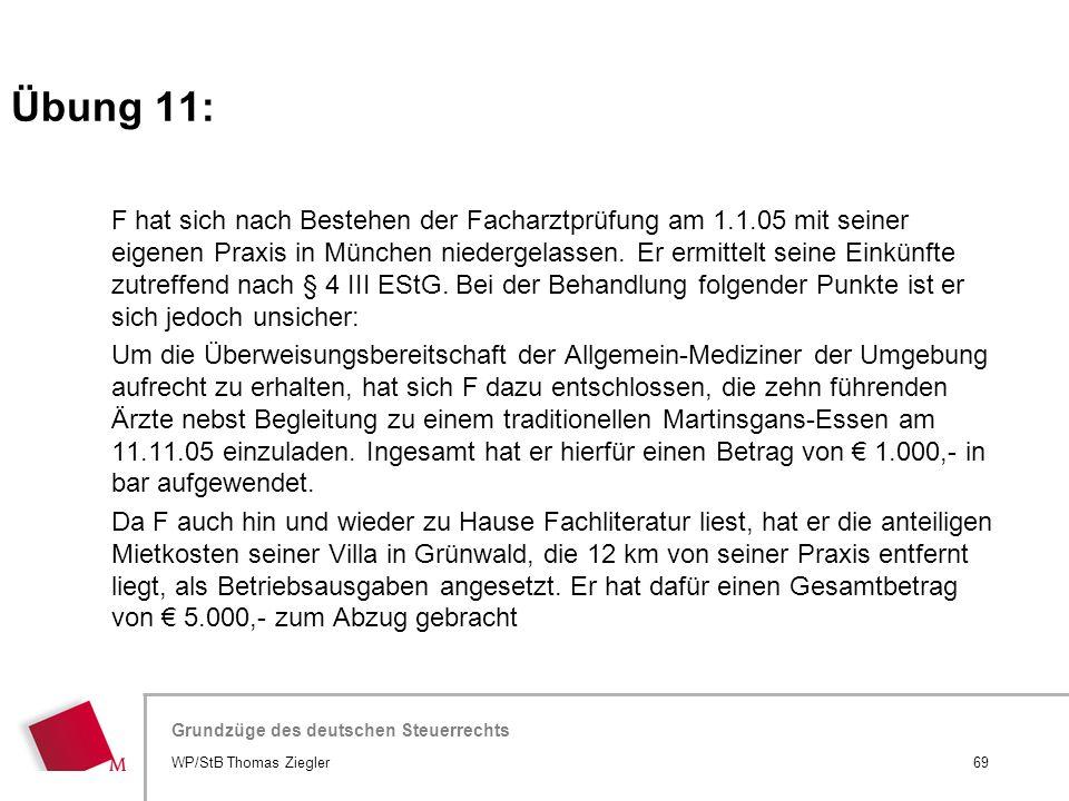 Übung 11: