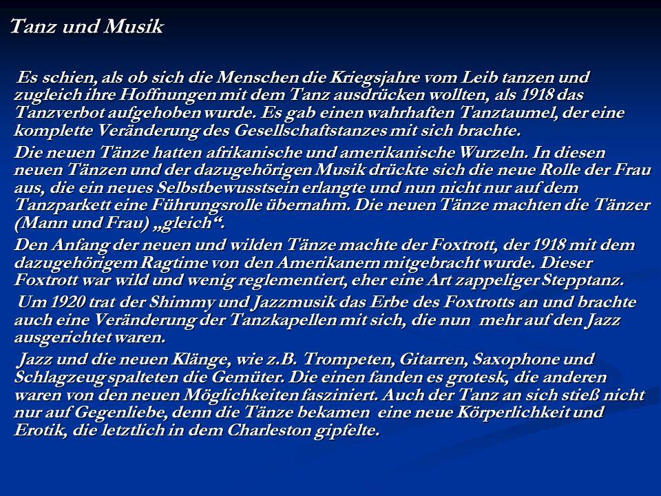 Tanz und Musik