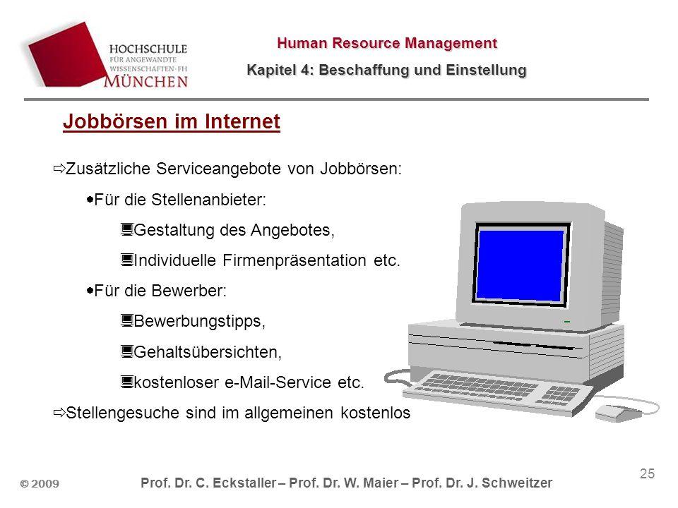 Jobbörsen im Internet Zusätzliche Serviceangebote von Jobbörsen: