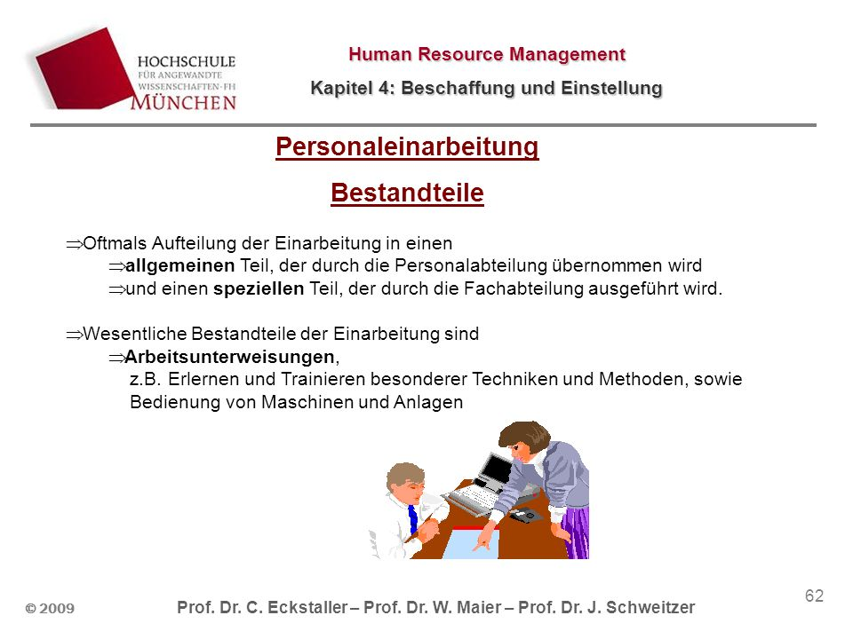 Personaleinarbeitung