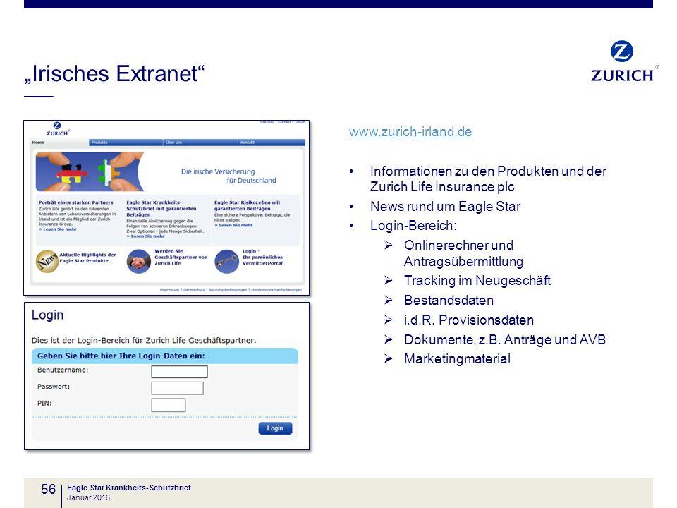 """""""Irisches Extranet www.zurich-irland.de"""