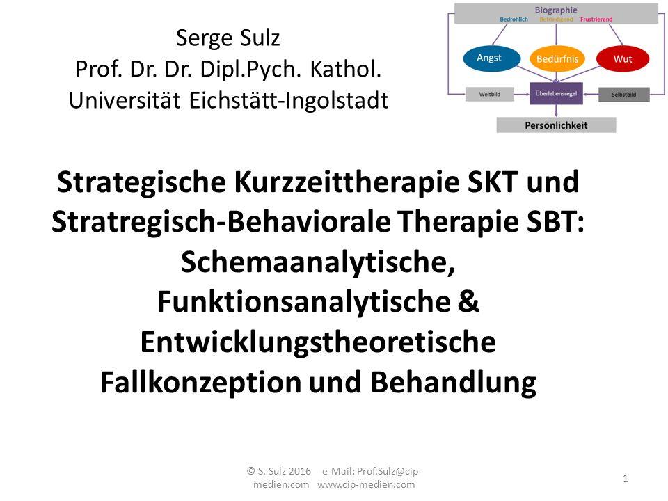 Schemaanalytische, Funktionsanalytische &